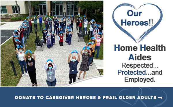 DONATE TO CAREGIVER HEROES & FRAIL OLDER ADULTS